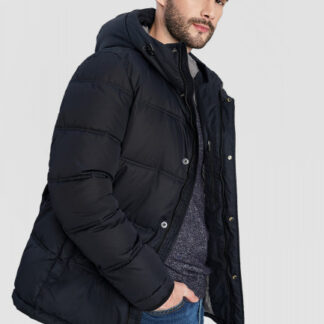 Базовая куртка с капюшоном на