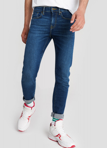 Базовые суперузкие джинсы O`Stin