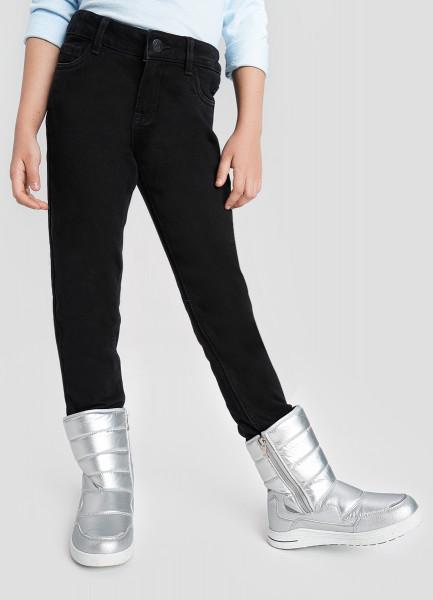 Базовые узкие джинсы из