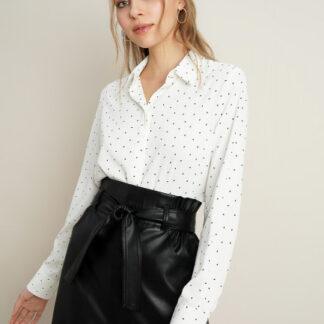 Блузка из крепового полиэстера O`Stin