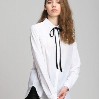 Блузка с контрастным бантом O`Stin