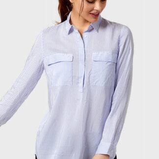 Блузка в полоску O`Stin