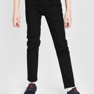 Чёрные базовые джинсы для мальчиков O`Stin