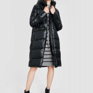 Длинное пальто с капюшоном O`Stin