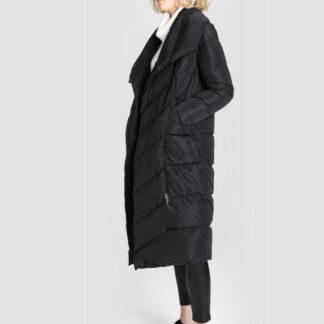 Длинное пуховое пальто с шалевым воротником O`Stin