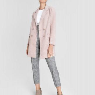 Двубортное короткое пальто O`Stin