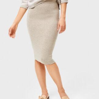 Двухсторонняя вязаная юбка миди O`Stin