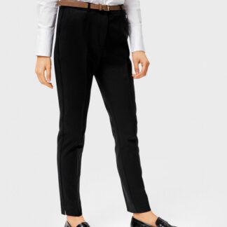 Хлопковые брюки с поясом O`Stin