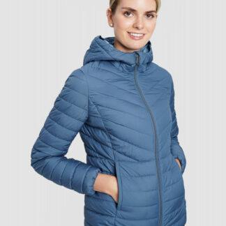 Короткая базовая ультралёгкая куртка