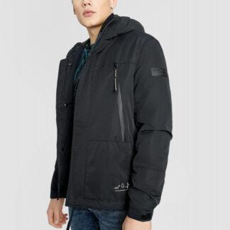 Куртка с капюшоном с технологичными деталями O`Stin