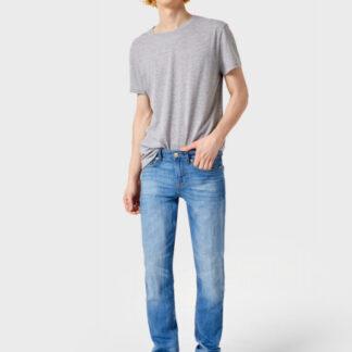 Летние джинсы с добавлением льна O`Stin