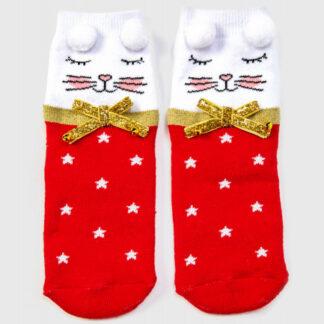 Махровые носки для девочек O`Stin