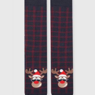 Махровые носки с жаккардом «олень» O`Stin