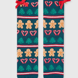 Махровые носки с жаккардом «печеньки» O`Stin