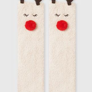Мягкие носки с оленем O`Stin