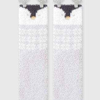 Мягкие носки с пингвином O`Stin