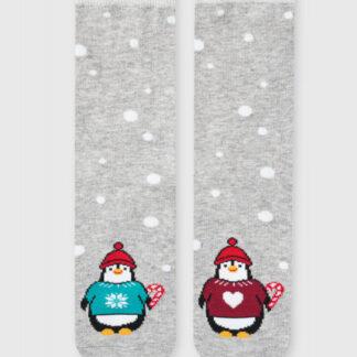 Носки с жаккардом «пингвины» в шаре O`Stin