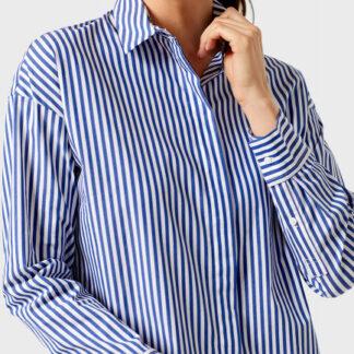 Объёмная хлопковая рубашка O`Stin