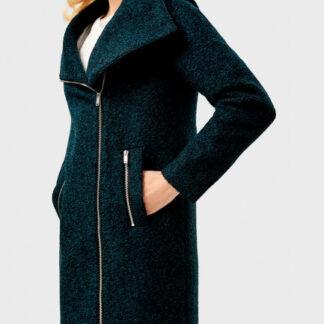 Пальто на молнии прямого силуэта O`Stin