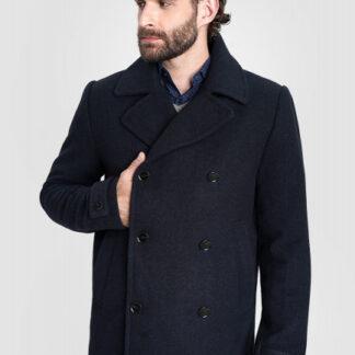Пальто с двубортной застёжкой O`Stin