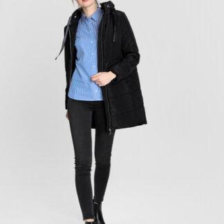 Пальто с горизонтальной стёжкой O`Stin