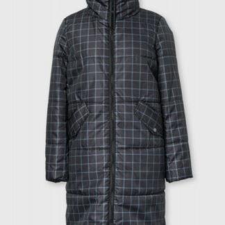 Пальто с принтом в клетку O`Stin