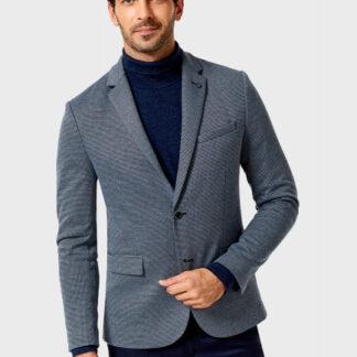 Пиджак с геометрическим рисунком O`Stin