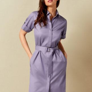 Платье-рубашка из хлопка-пима O`Stin