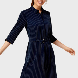 Платье-рубашка в микропринт O`Stin