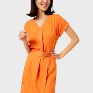 Платье с металлической фурнитурой O`Stin
