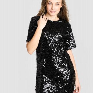 Платье с пайетками O`Stin