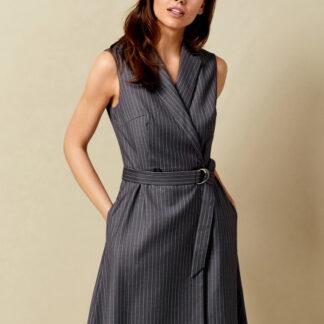 Платье с запахом из поливискозы O`Stin