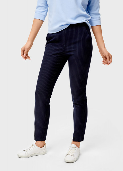 Поливискозные брюки с эластичным поясом O`Stin