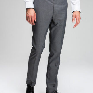 Поливискозные брюки в микроструктуру O`Stin