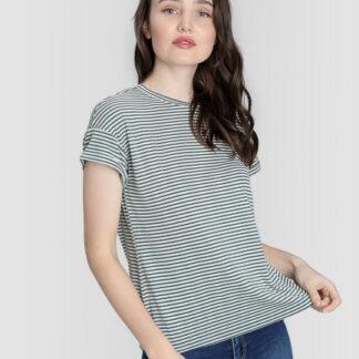 Полосатая футболка O`Stin
