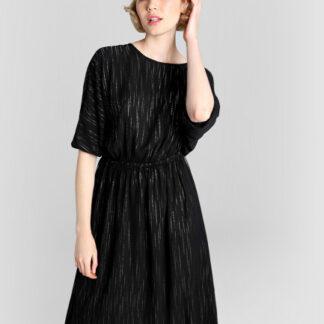 Принтованное платье с эластичным поясом O`Stin