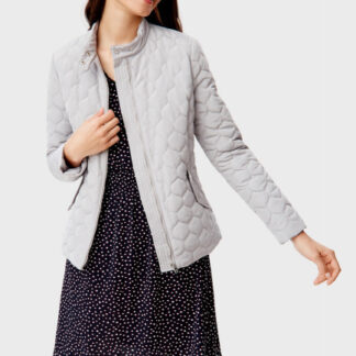 Приталенная стёганая куртка O`Stin