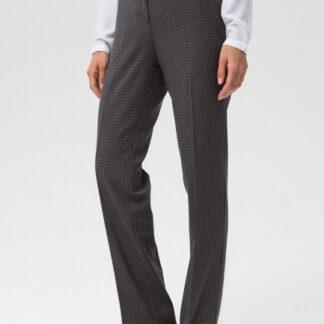 Прямые брюки из поливискозы в «гусиную лапку» O`Stin