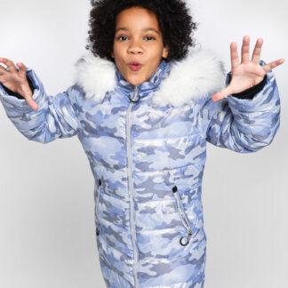 Пуховая куртка для девочек O`Stin
