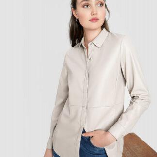 Рубашка из искусственной кожи O`Stin