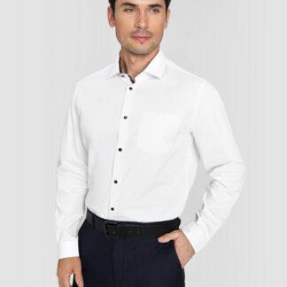 Рубашка из принтованного сатина O`Stin