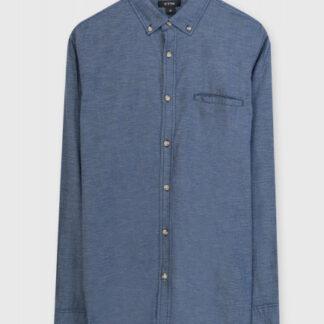 Рубашка из структурного тонкого хлопка O`Stin
