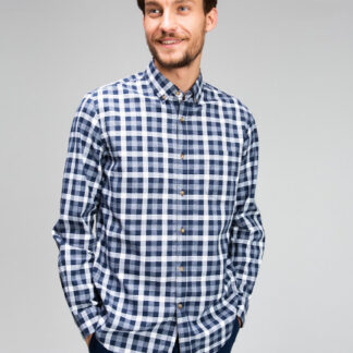 Рубашка в клетку Oxford Vichy O`Stin