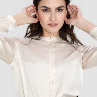 Сатиновая блузка O`Stin