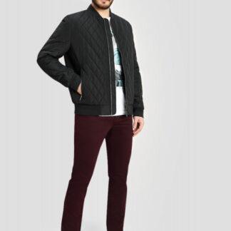 Стёганая куртка-бомбер O`Stin