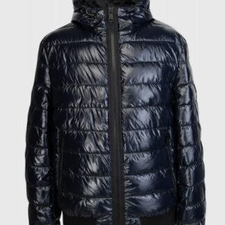Стёганая куртка-бомбер с капюшоном O`Stin