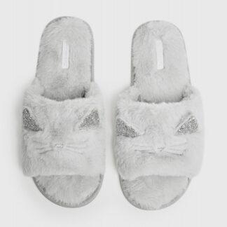 Тапочки с открытыми носами «кошки» O`Stin