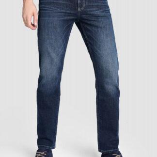 Тёмно-синие прямые джинсы O`Stin