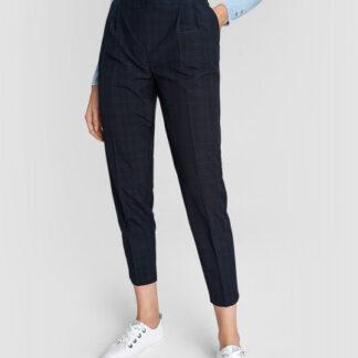Трендовые брюки со складками на поясе O`Stin