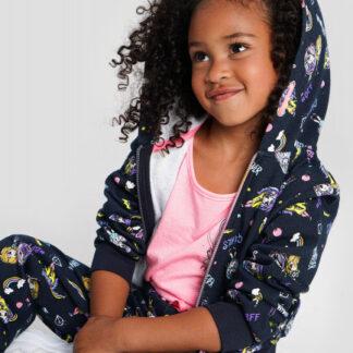 Трикотажная куртка для девочек O`Stin
